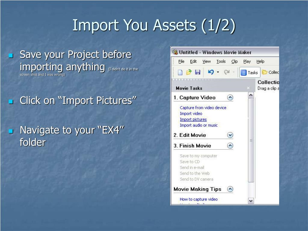 Import You Assets (1/2)
