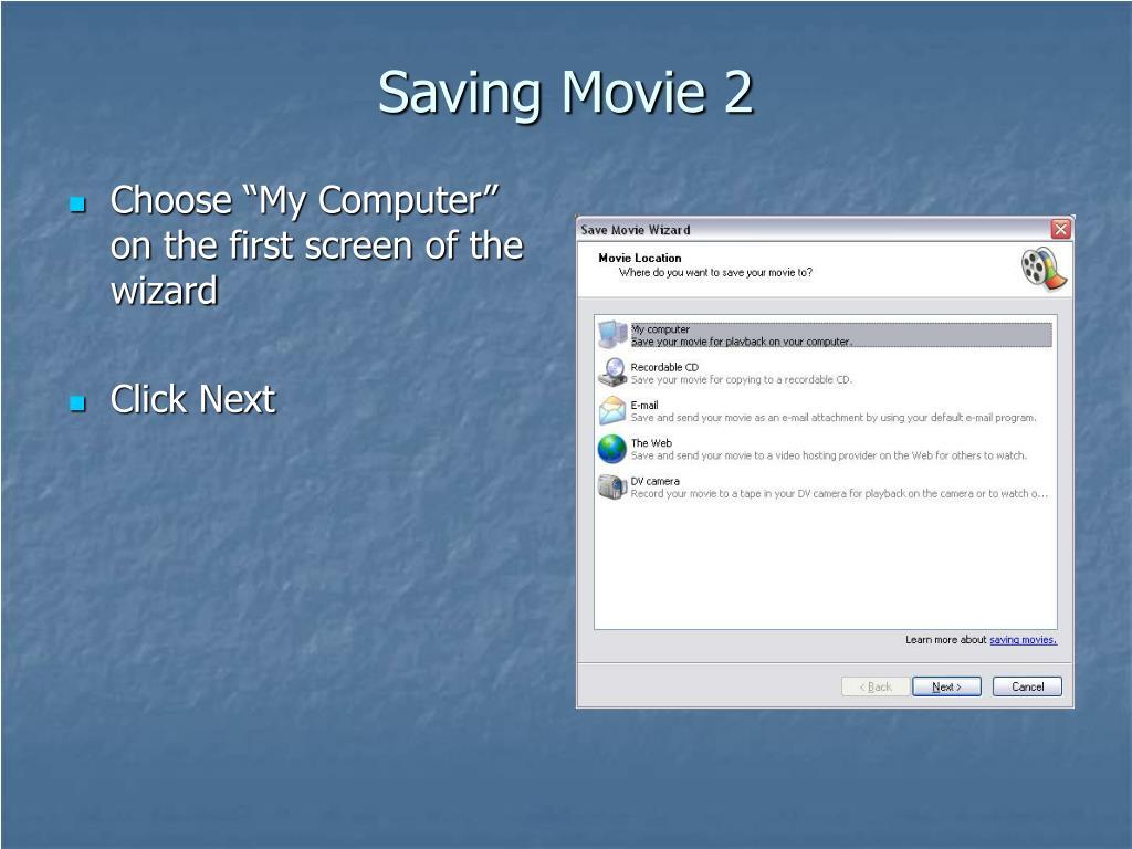 Saving Movie 2