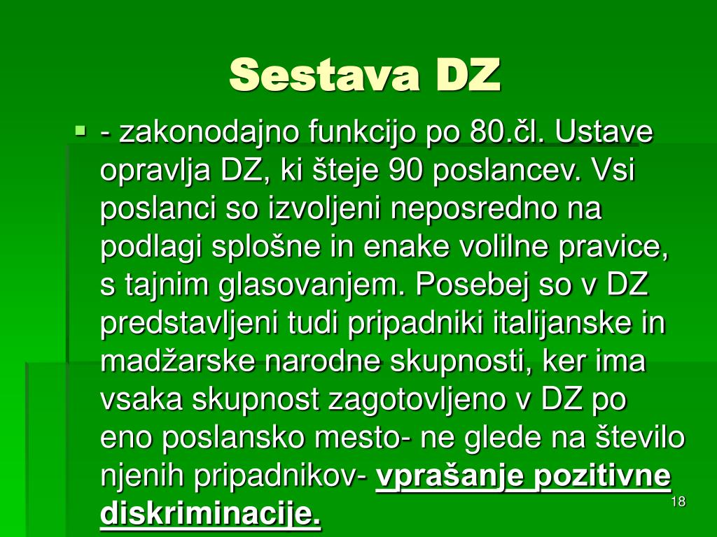 Sestava DZ