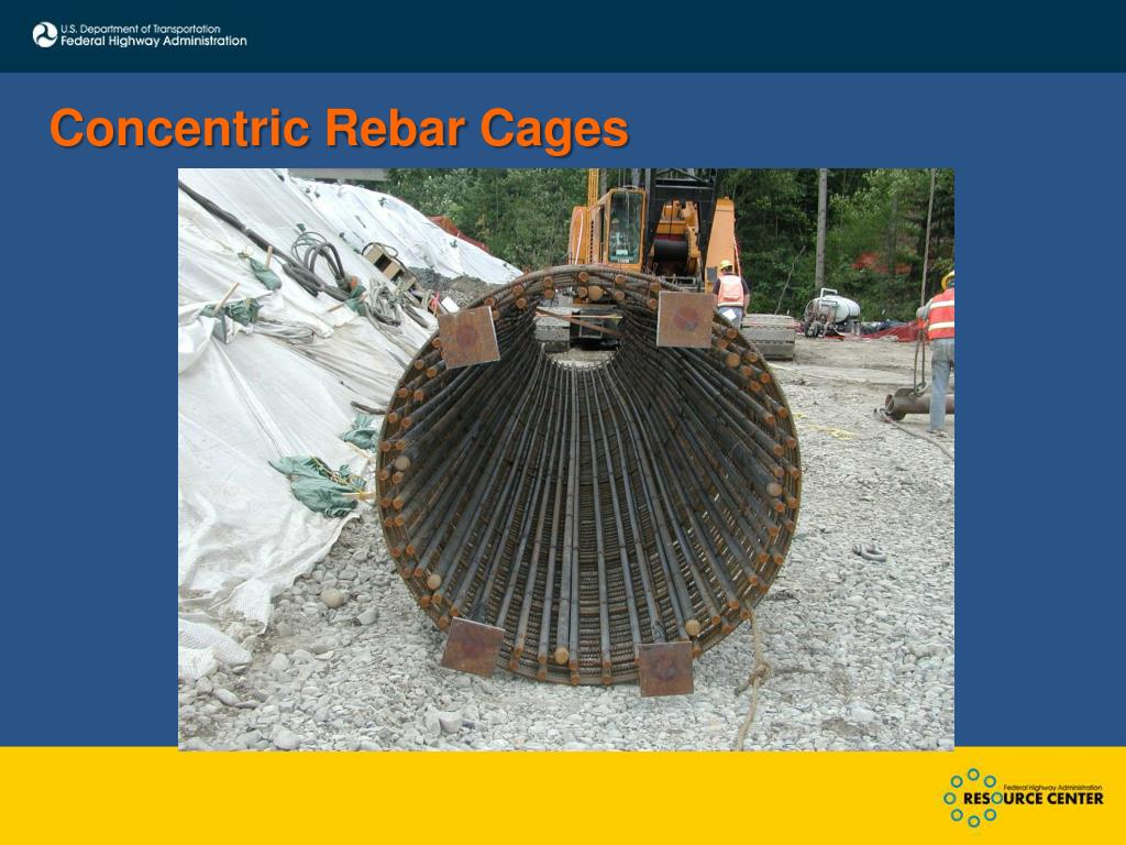 Concentric Rebar Cages