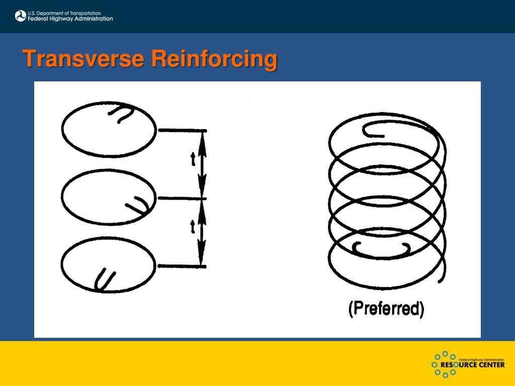 Transverse Reinforcing