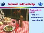 internal r adioactivity