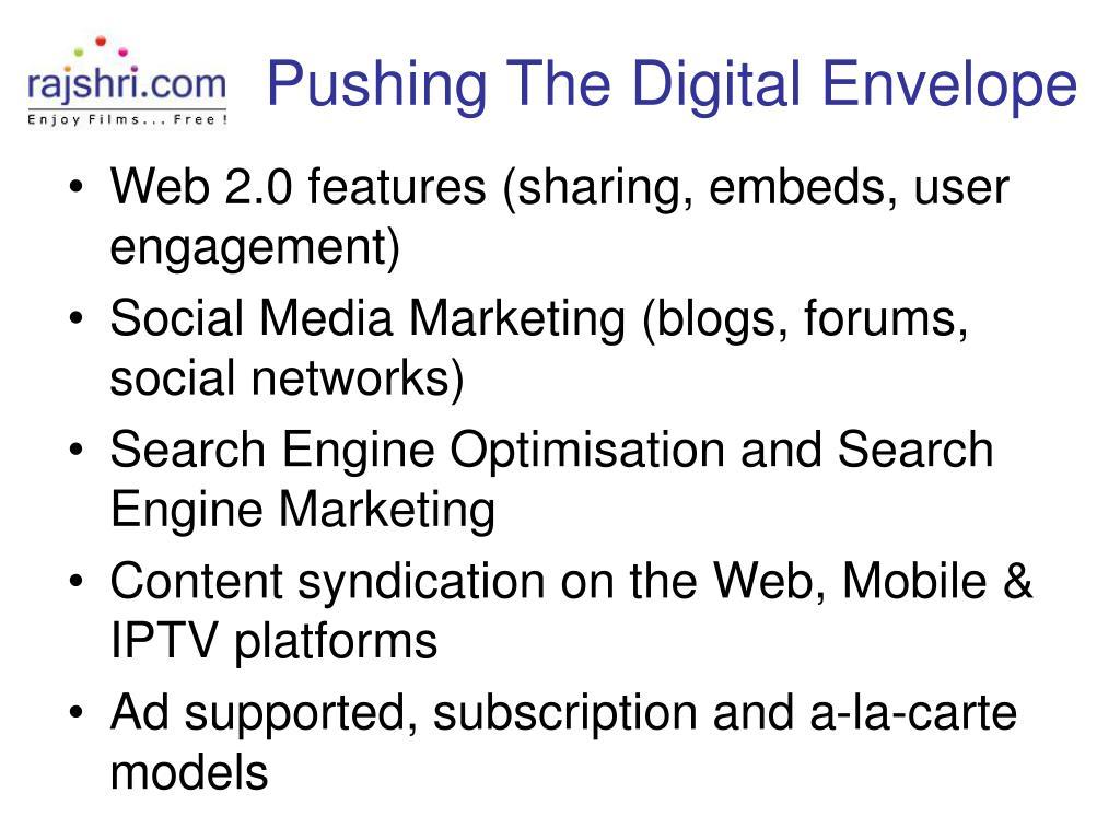 Pushing The Digital Envelope