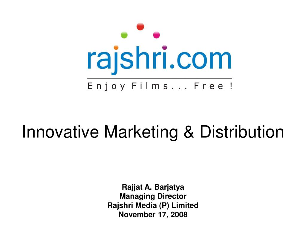 Innovative Marketing & Distribution