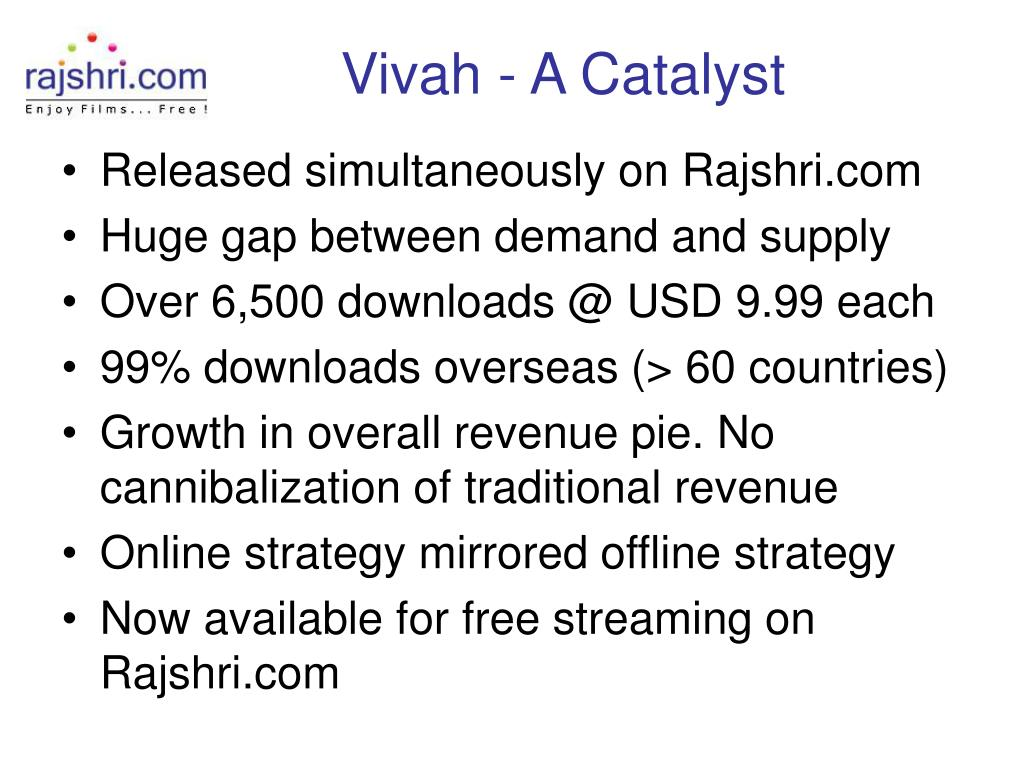 Vivah - A Catalyst