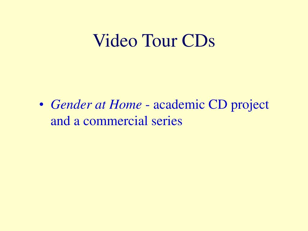 Video Tour CDs