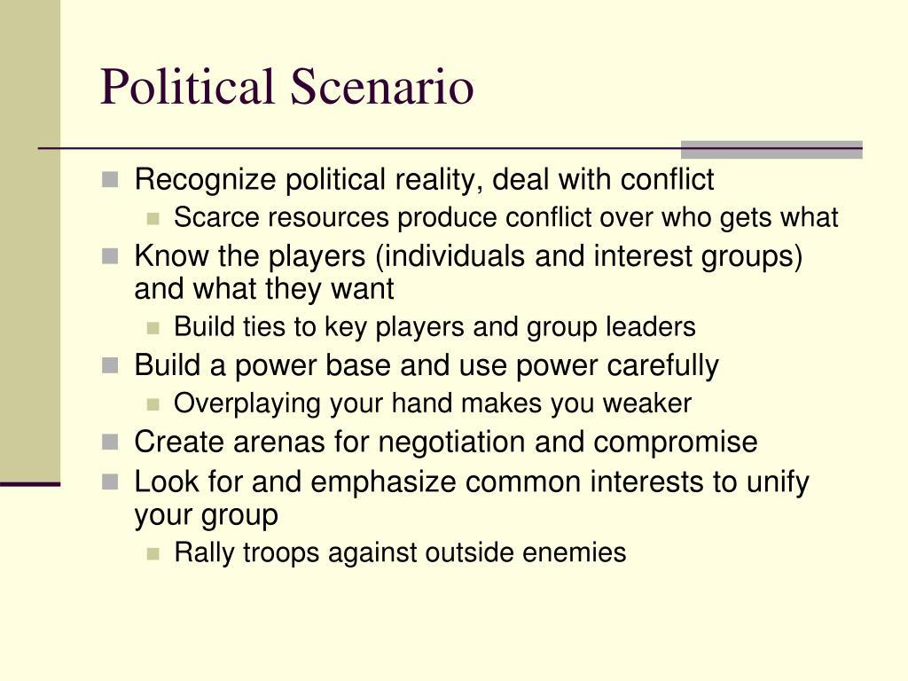 Political Scenario
