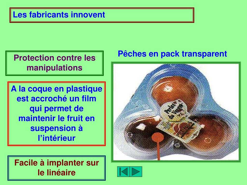 Les fabricants innovent