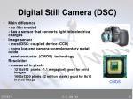 digital still camera dsc