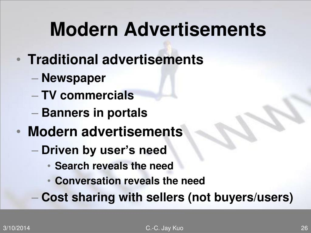 Modern Advertisements