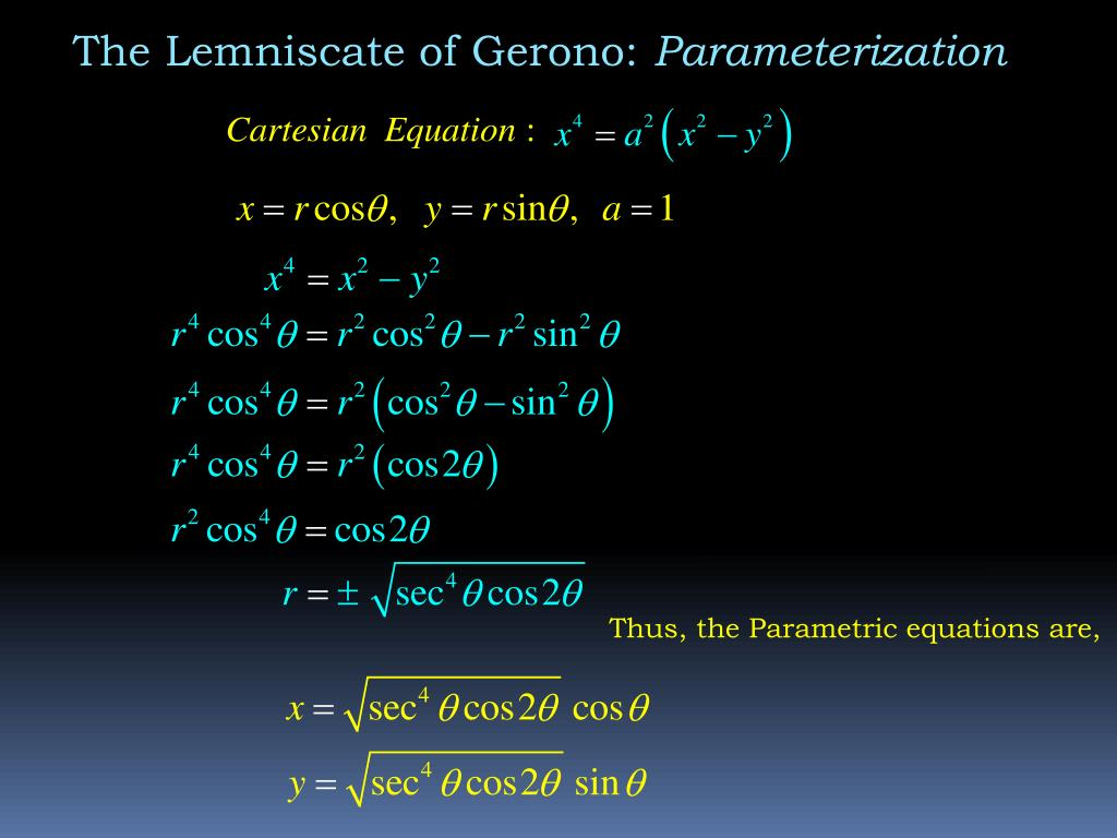 The Lemniscate of Gerono: