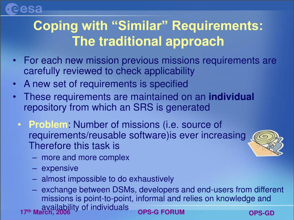 "Coping with ""Similar"" Requirements:"