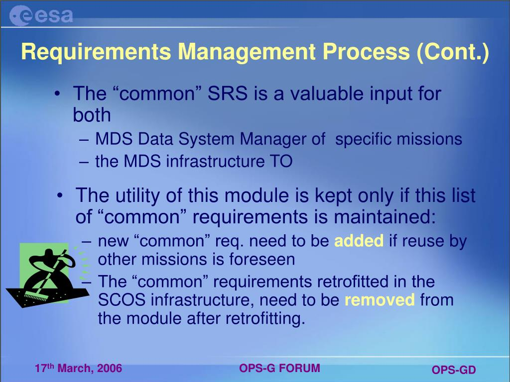 Requirements Management Process (Cont.)