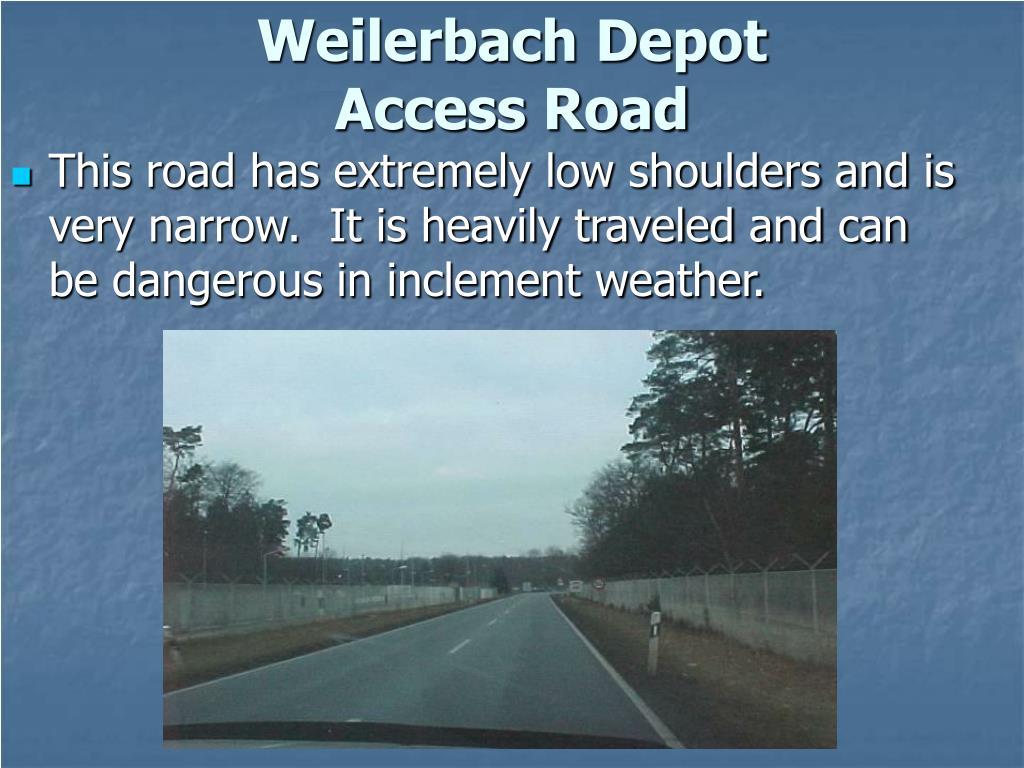 Weilerbach Depot