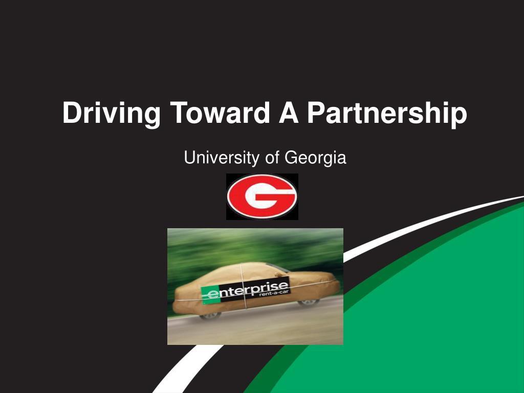 driving toward a partnership