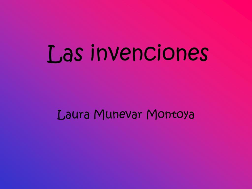 Las invenciones