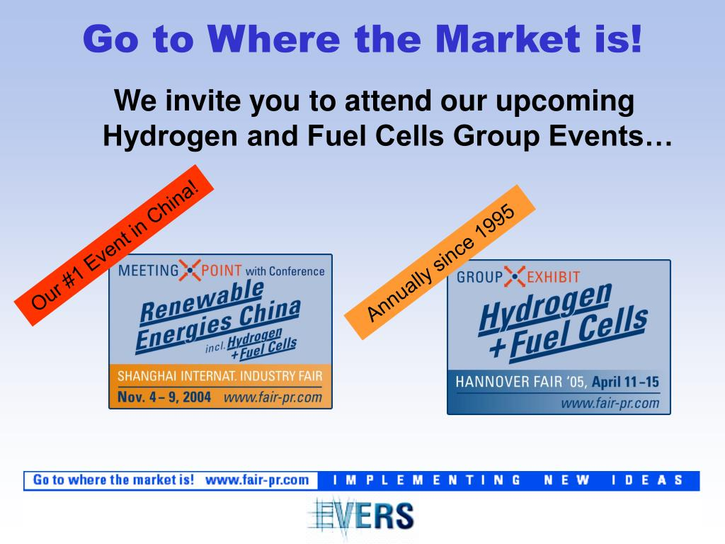 We invite you to attend our upcoming Hydrogen and Fuel Cells Group Events…