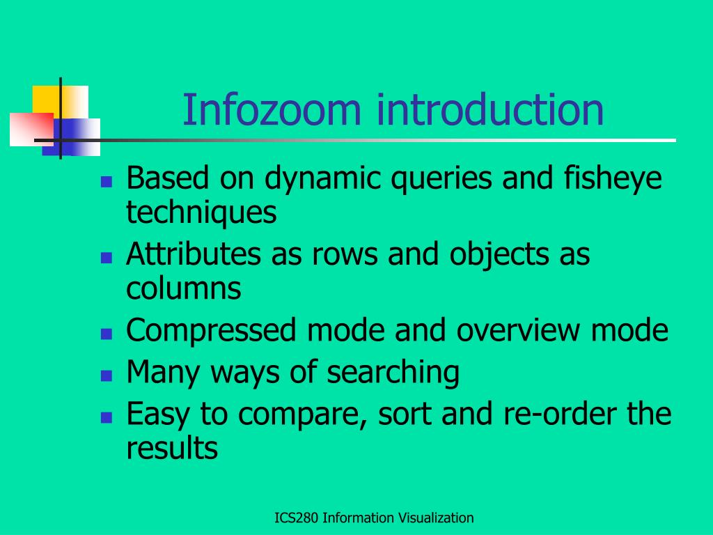 Infozoom introduction