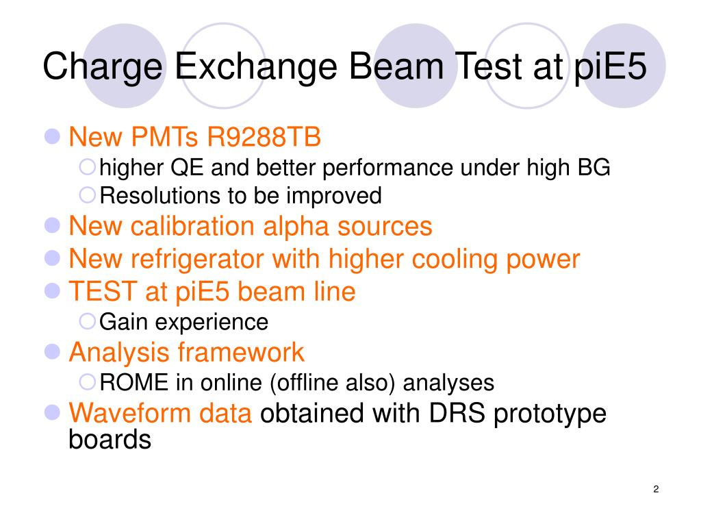 Charge Exchange Beam Test at piE5