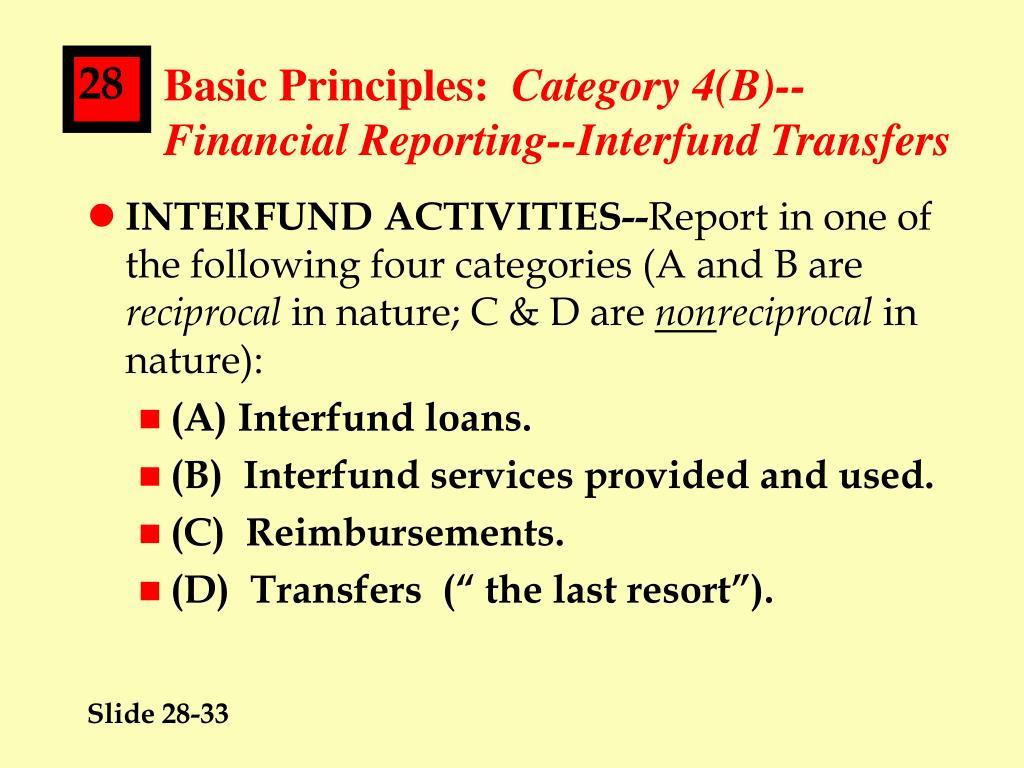 Basic Principles:
