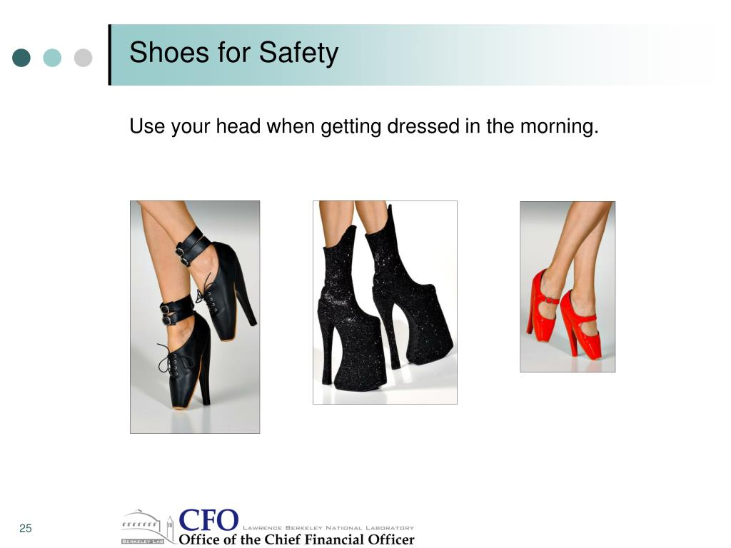 Shoes for Safety