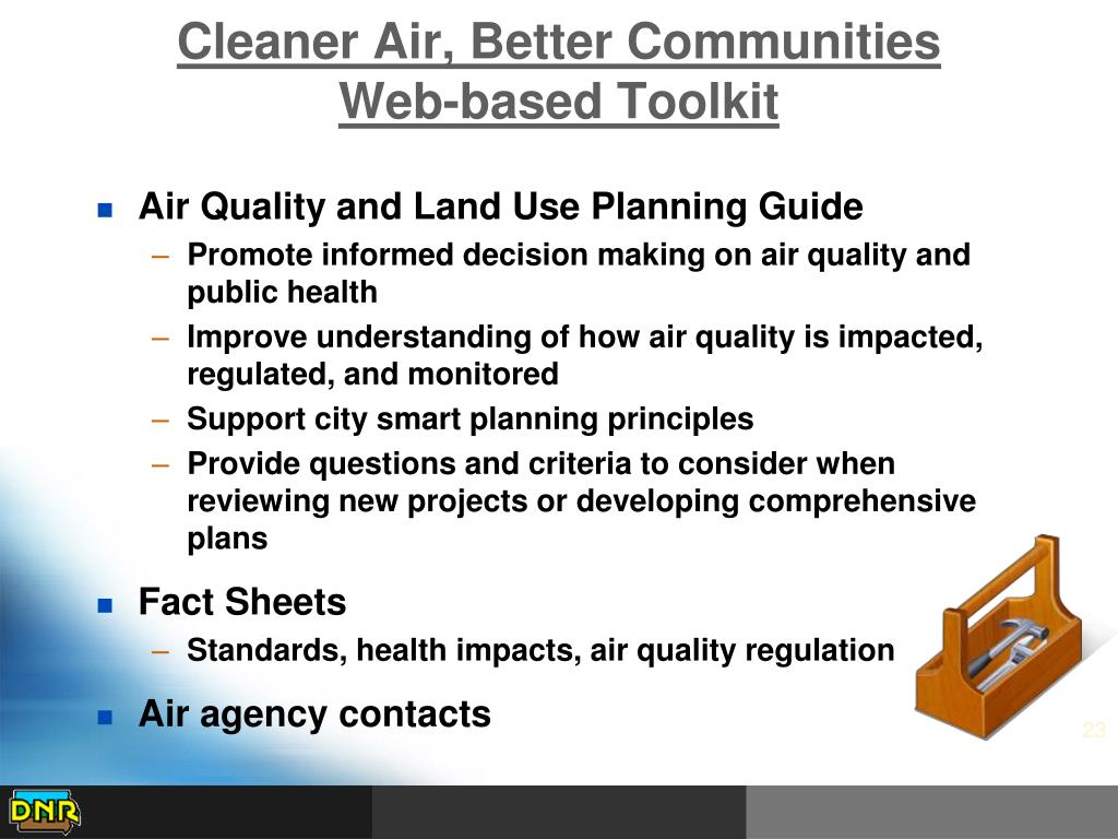 Cleaner Air, Better Communities