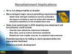 nonattainment implications