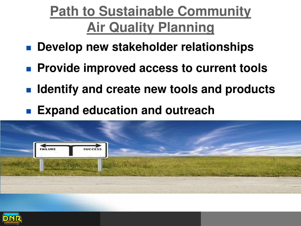 Path to Sustainable Community