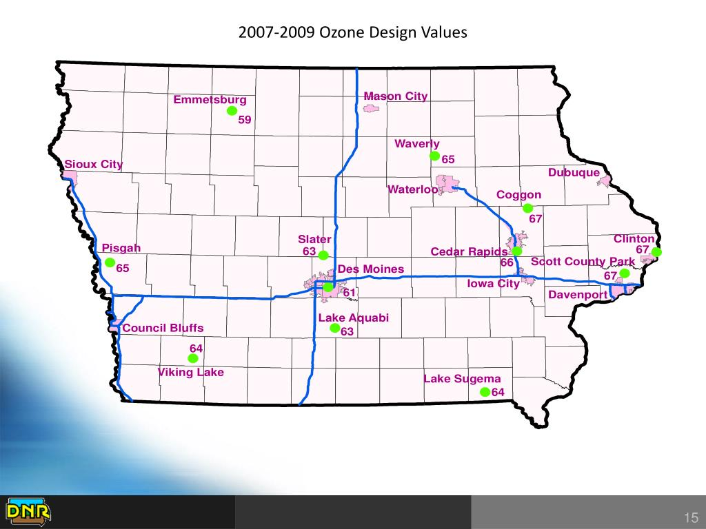 2007-2009 Ozone Design Values