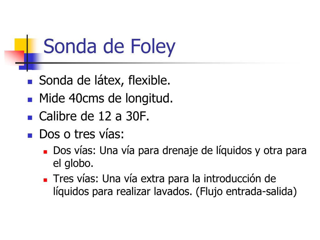 Sonda de Foley