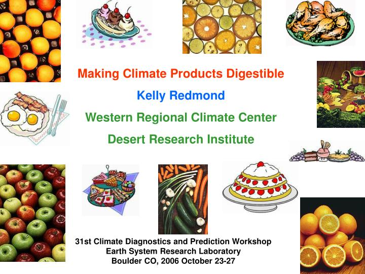 Making Climate Products Digestible