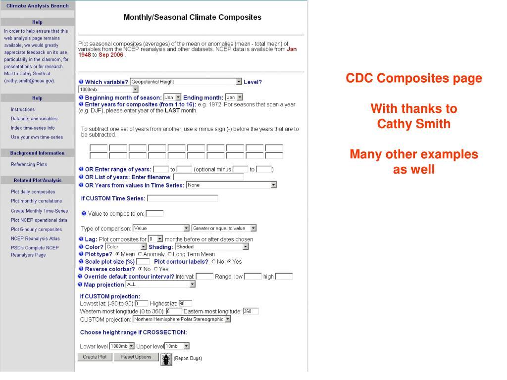 CDC Composites page