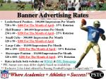 banner advertising rates