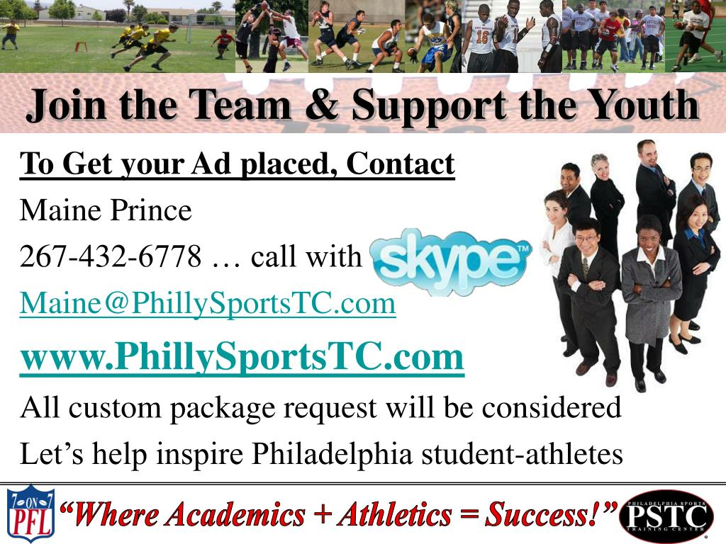 Join the Team & Support the Youth