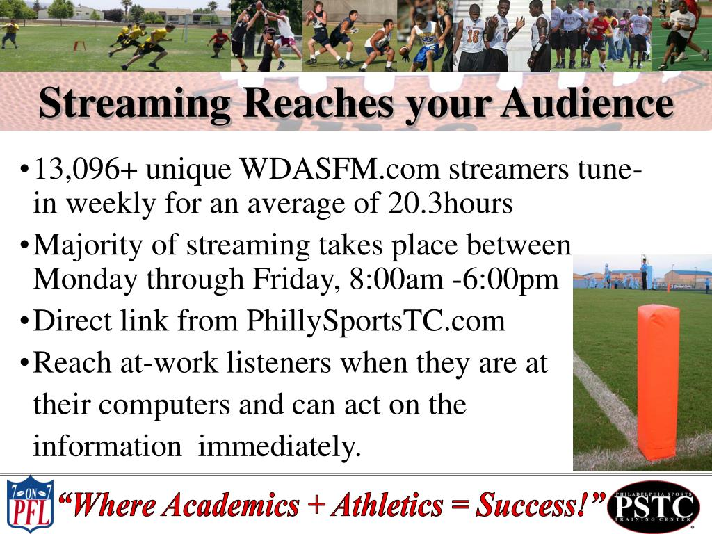 Streaming Reaches your Audience
