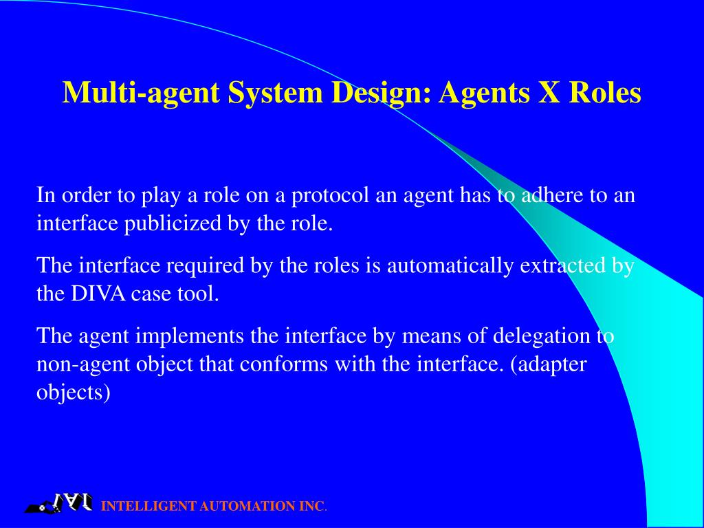 Multi-agent System Design: Agents X Roles