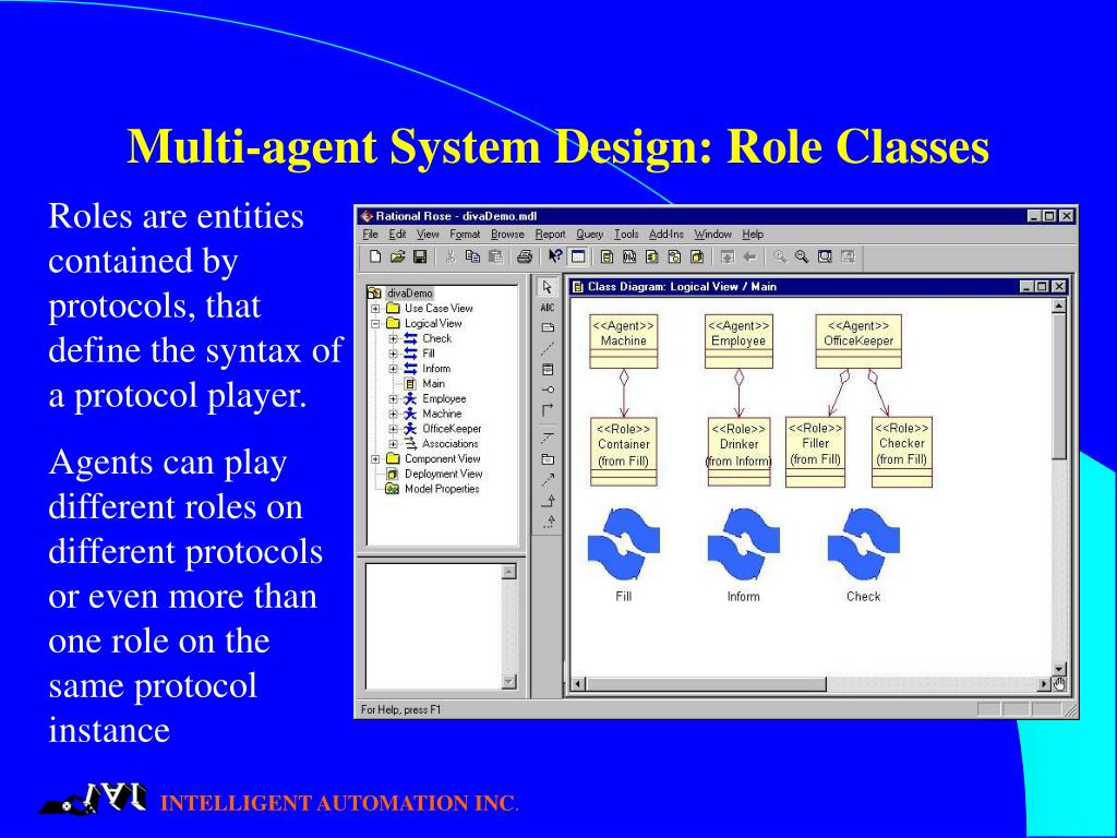 Multi-agent System Design: Role Classes