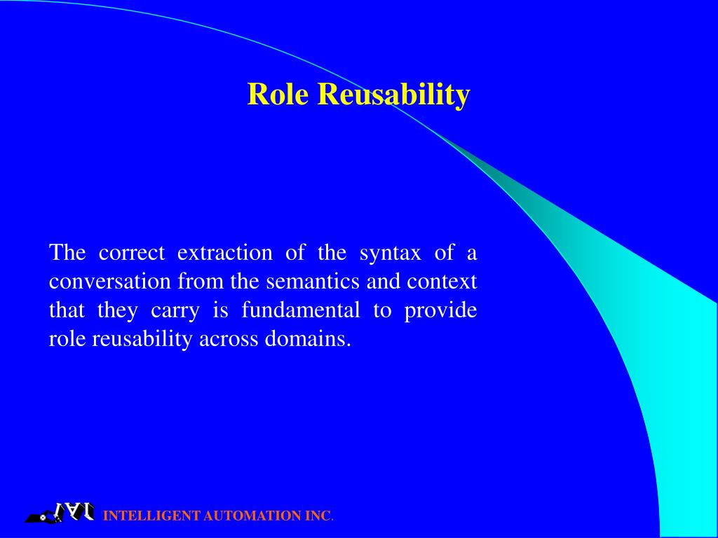 Role Reusability