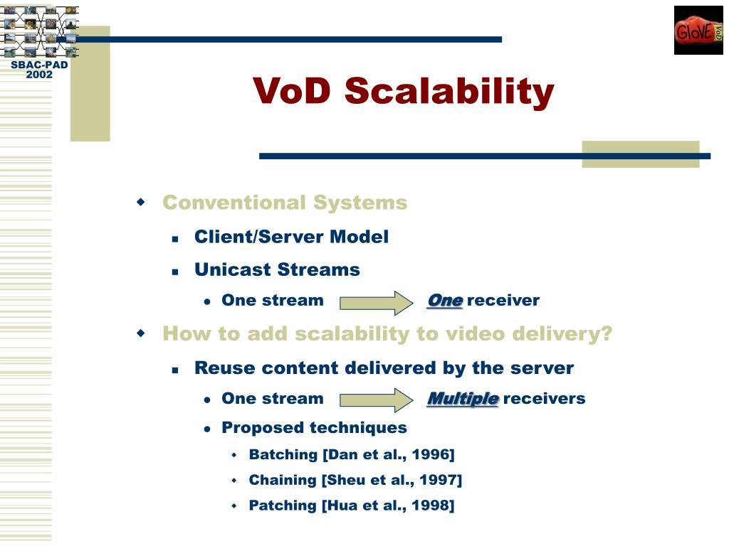 VoD Scalability