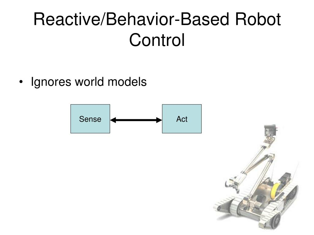 Reactive/Behavior-Based Robot Control