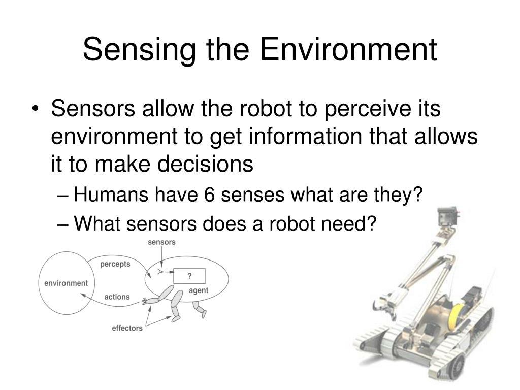Sensing the Environment