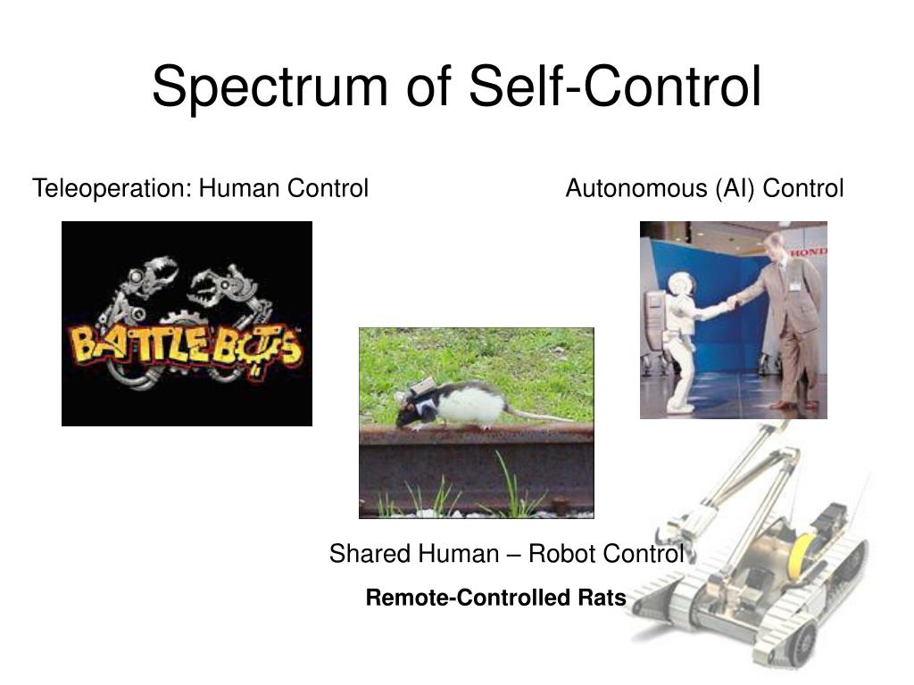 Spectrum of Self-Control