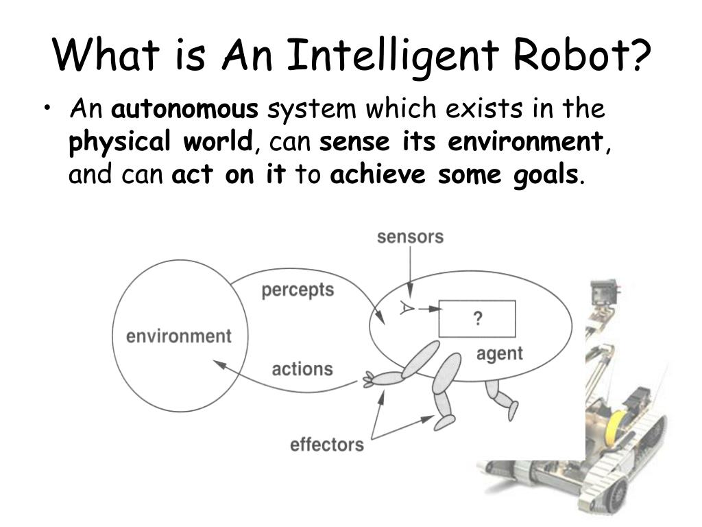 What is An Intelligent Robot?