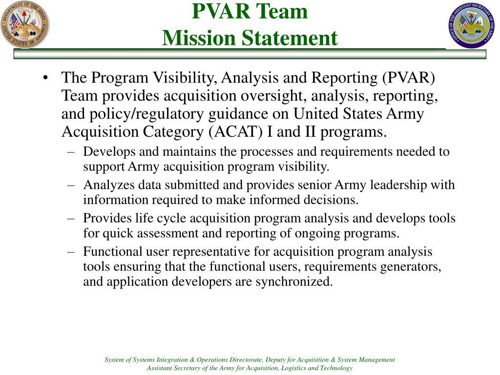 PVAR Team