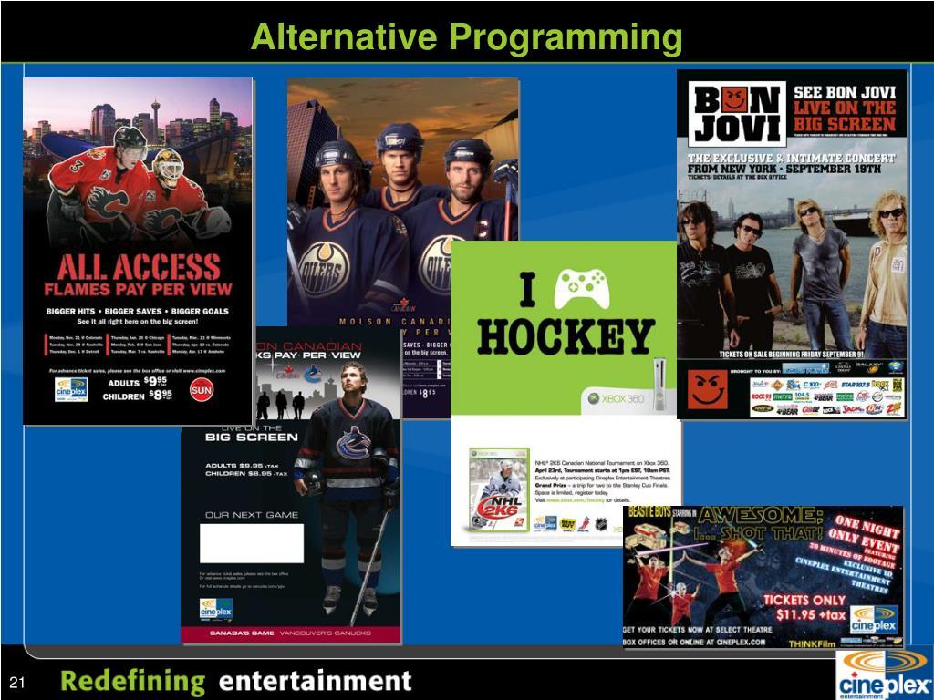 Alternative Programming