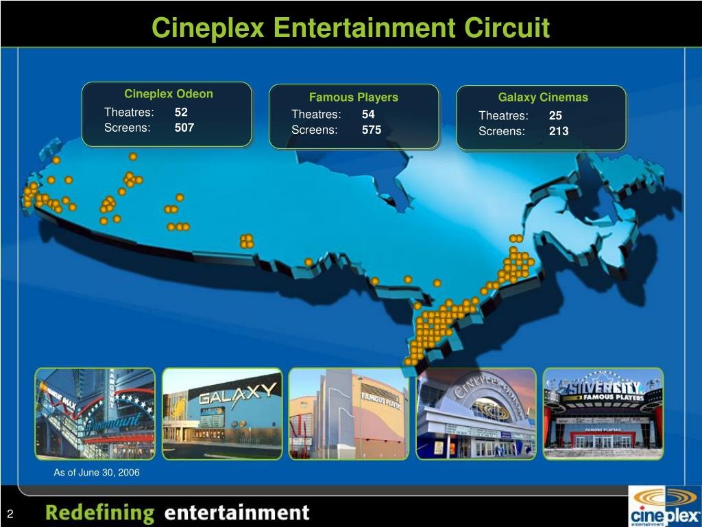 Cineplex Entertainment Circuit