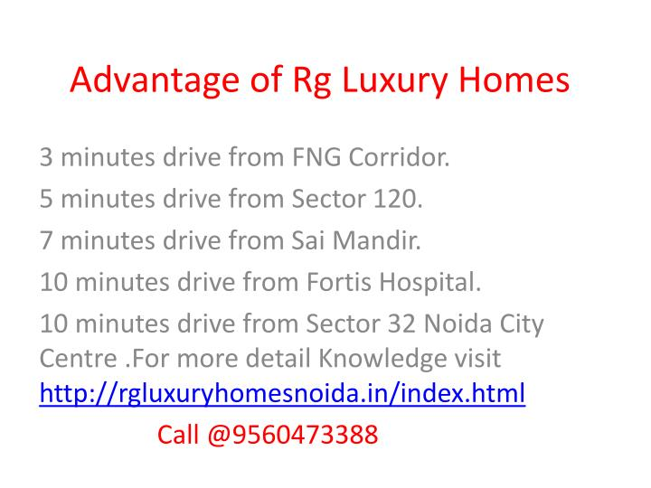 Advantage of rg luxury homes l.jpg
