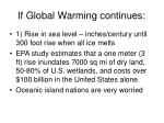 if global warming continues