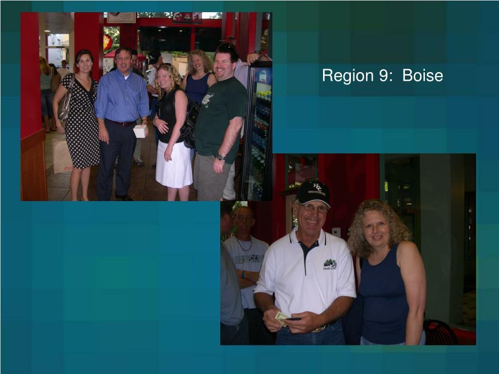 Region 9:  Boise