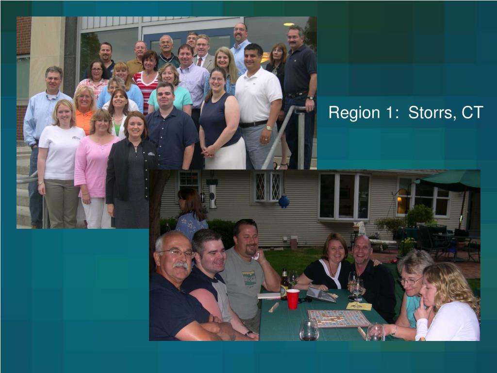 Region 1:  Storrs, CT